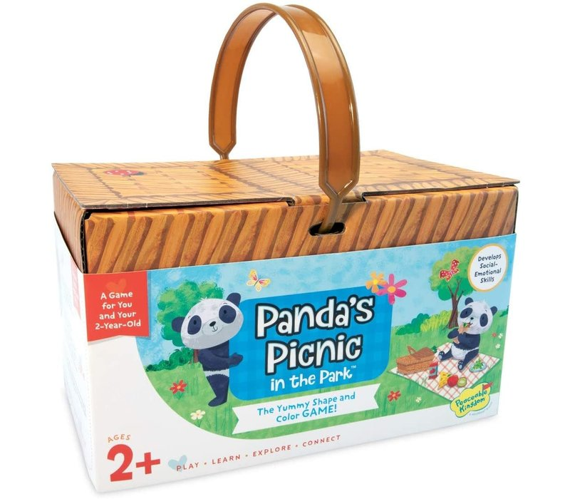 Panda's Picnic in the Park - The Yummy Shape and Colour Game *