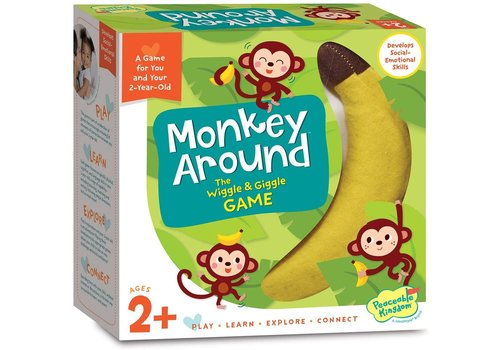 PEACEABLE KINGDOM Monkey Around  - The Award Winning Wiggle & Giggle Game *