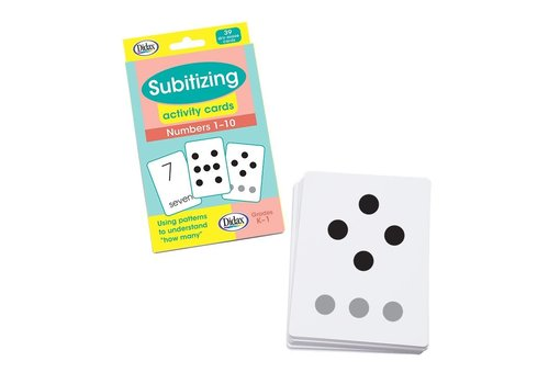 Didax Subitizing Activity Cards - 39 Dry-Erase Cards *