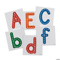 Giant Dry Erase Traceable Letters *