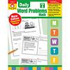 Evan Moor DAILY WORD PROBLEMS GRADE 3 - Revised *