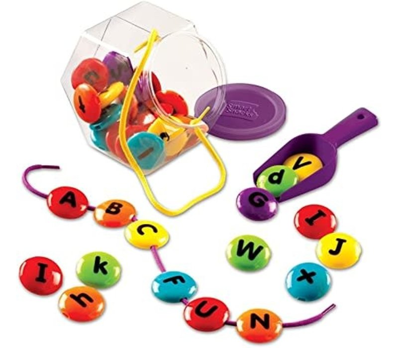 ABC Lacing Sweets - A Sweet Letter Learning Treat!