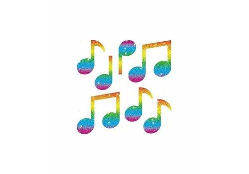 Carson Dellosa Music Notes Dazzle Stickers *