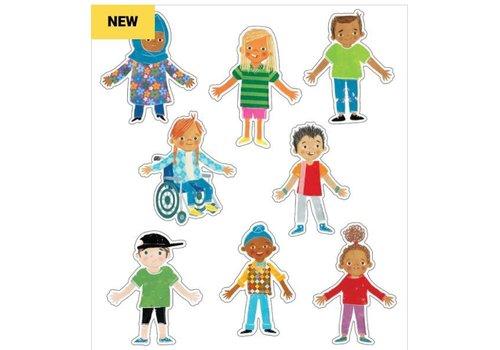 Carson Dellosa All Are Welcome Kids Colorful Cutouts *