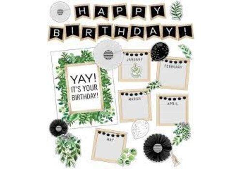 Carson Dellosa Simply BOHO Birthday Bulletin Board*