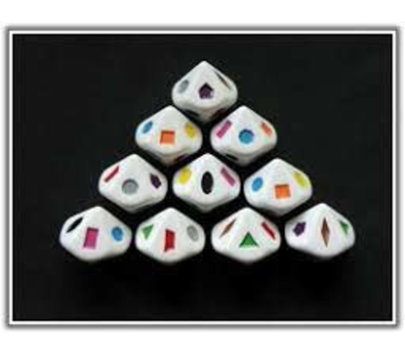 10 sided Shape/Color Dice*