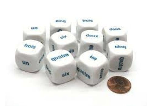 Koplow French Dice Numbers 1-6*
