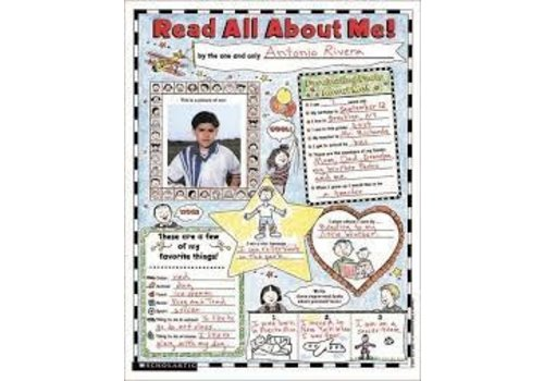 Scholatic USA Read All About Me! Grades K-2 *