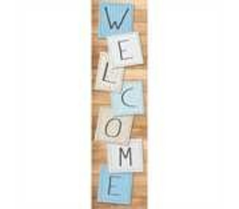 Close-Knit Class Welcome Banner *