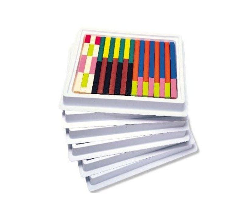 Plastic Cuisenaire Rods Classroom Set *