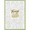 EUREKA A Close-Knit Class Things That Make Me Happy Chart *