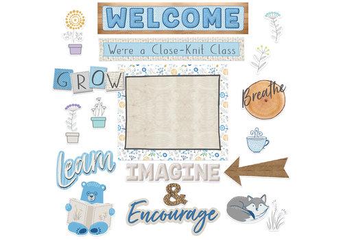 EUREKA A Close-Knit Class Welcome Bulletin Board Set*