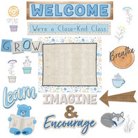 A Close-Knit Class Welcome Bulletin Board Set*