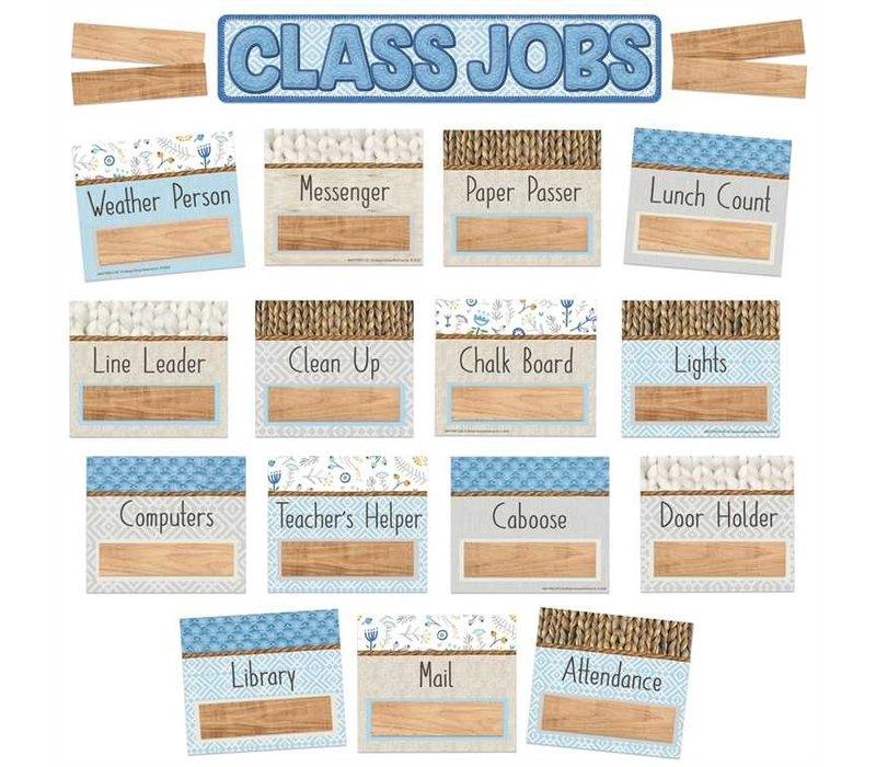 A Close-Knit Class  Class Jobs Mini Bulletin Board Set *
