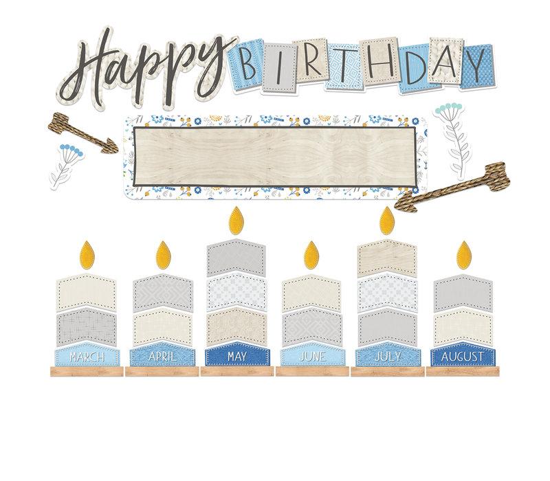A Close-Knit Class Birthday Mini Bulletin Set *