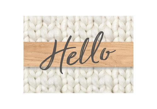 EUREKA A Close-Knit Class Hello Teacher Cards *