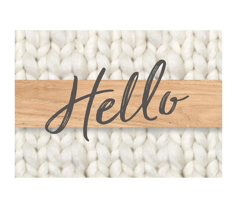 A Close-Knit Class Hello Teacher Cards *