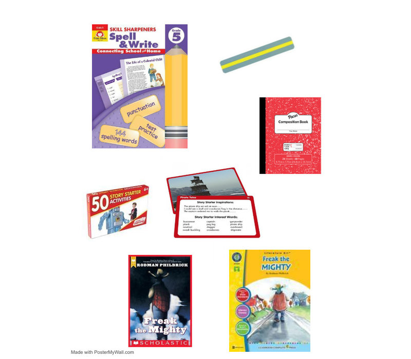 COVID Catch Up Kit - Language Grade 5 *