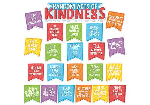 EUREKA A Teachable Town Random Acts of Kindness Mini Bulletin Board Set *