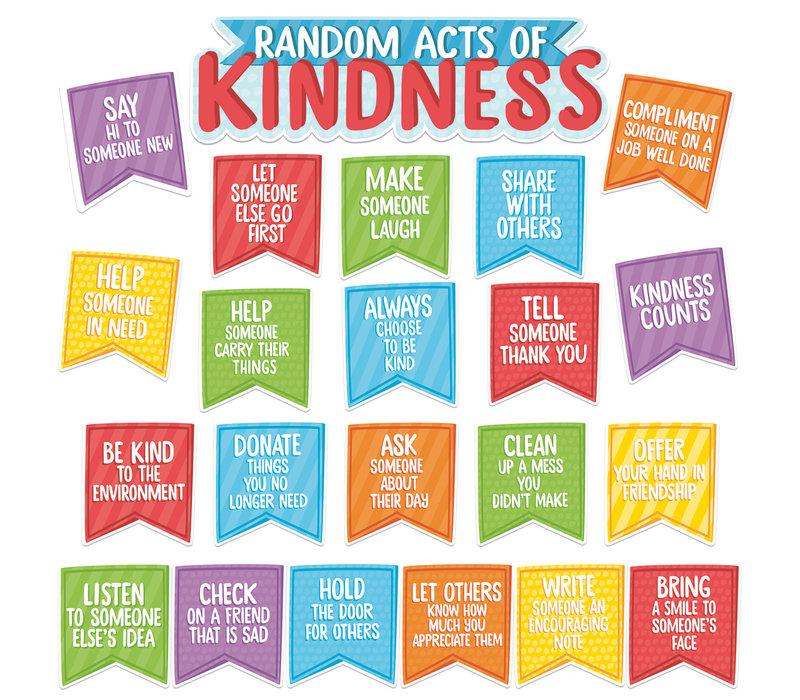 A Teachable Town Random Acts of Kindness Mini Bulletin Board Set *