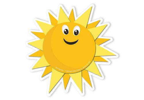 EUREKA A Teachable Town Growth Mindset Sun Accents *