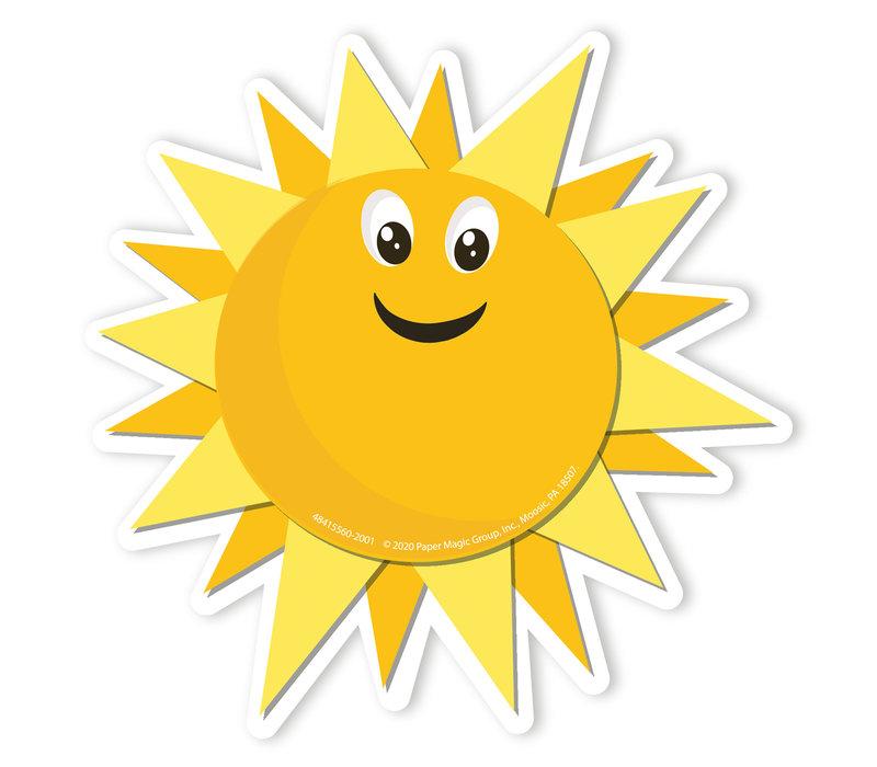 A Teachable Town Growth Mindset Sun Accents *