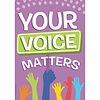 EUREKA A Teachable Town Your Voice Matters Poster *