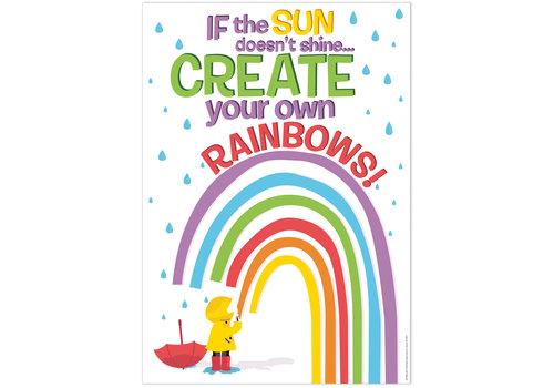 EUREKA A Teachable Town Create Your Own Rainbows  Poster *