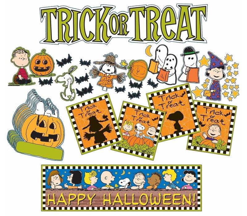 Peanuts Hallowe'en  Mini Bulletin Board Set *