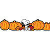 EUREKA Peanuts Fall Pumpkins Decor Trim Extra Wide *