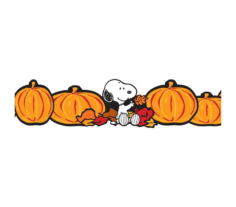 Peanuts Fall Pumpkins Decor Trim Extra Wide *