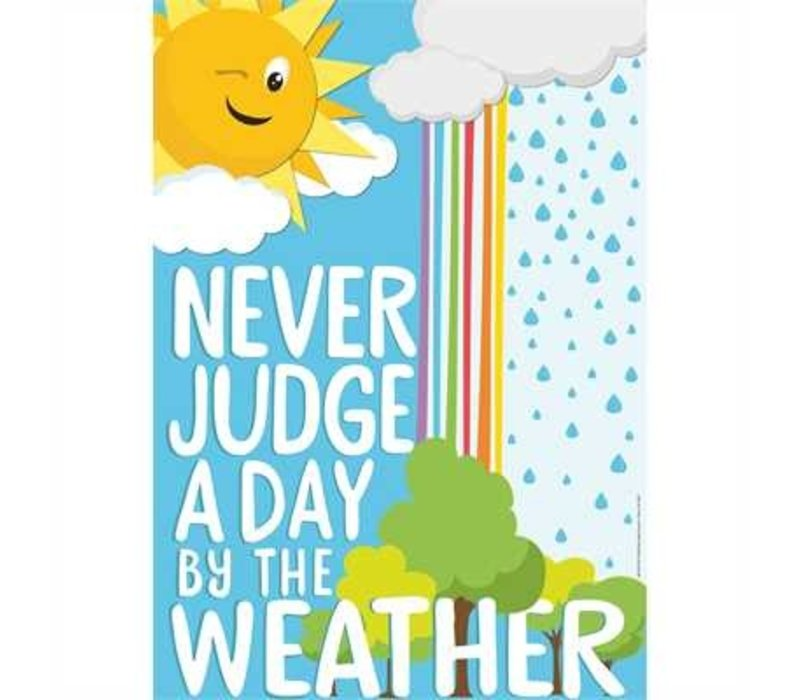 A Teachable Town Never Judge a Day  Poster *