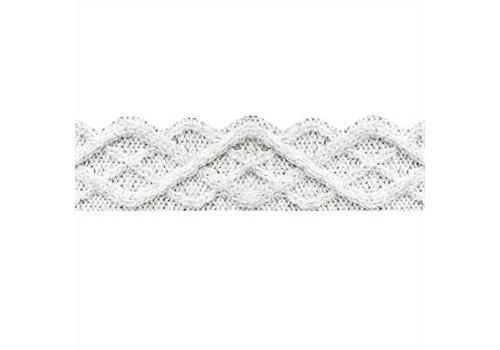 EUREKA A Close Knit Class Fisherman Cable  Knit Extra Wide Deco Trim *