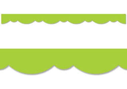 Creative Teaching Press Lime Green Stylish Scallops Border *