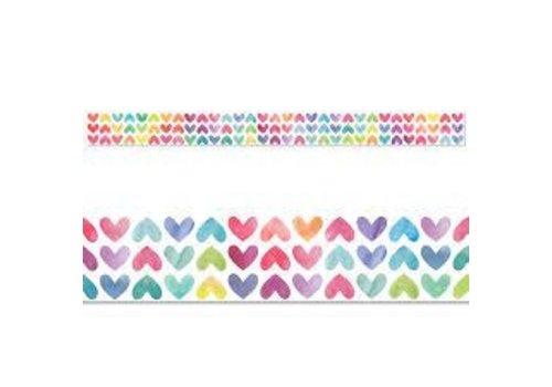 Creative Teaching Press Colorful Hearts Border *