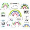 Creative Teaching Press Doodly Rainbows Bulletin Board Set *