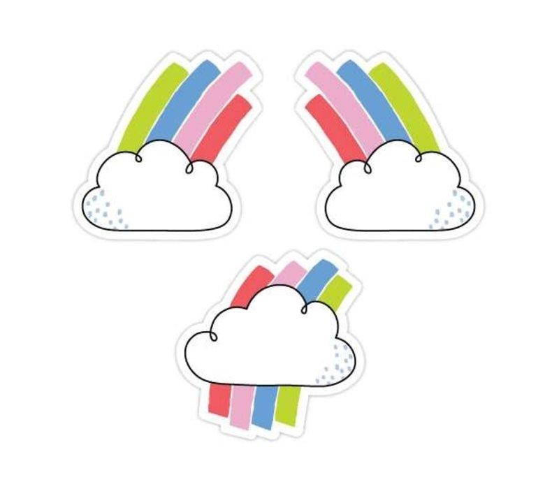 "Rainbow Skies 3"" Designer Cut-outs*"