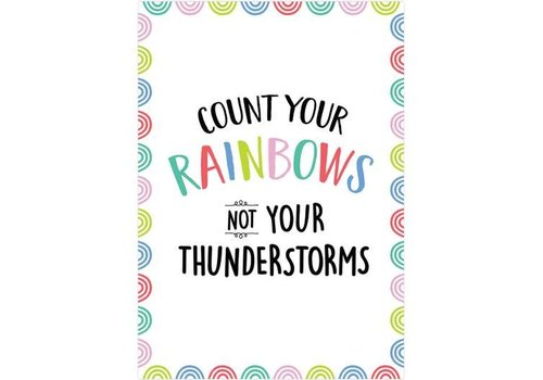 Creative Teaching Press Rainbow Doodles - Count your rainbows ... .Poster *