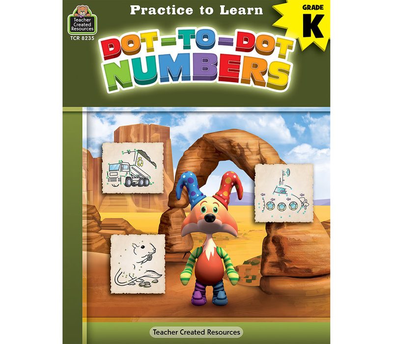 Practice to Learn - Dot to Dot Numbers*