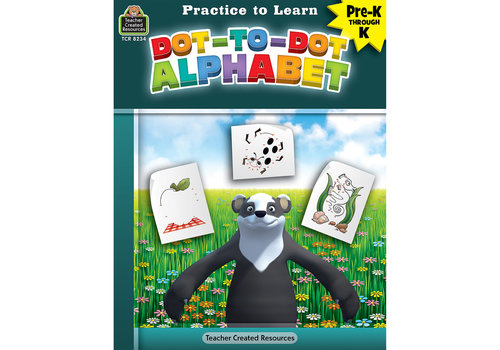 Teacher Created Resources Practice to Learn - Dot to Dot Alphabet*