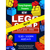 Young Engineer LEGO Bricks! Summer Camp PM - July 5-9*