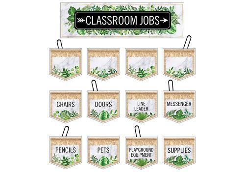 Carson Dellosa Simply BOHO Classroom Jobs Mini Bulletin Board Set *