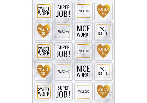Carson Dellosa Simply BOHO Motivators Shape Stickers *