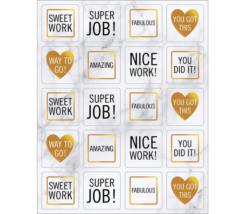 Simply BOHO Motivators Shape Stickers *