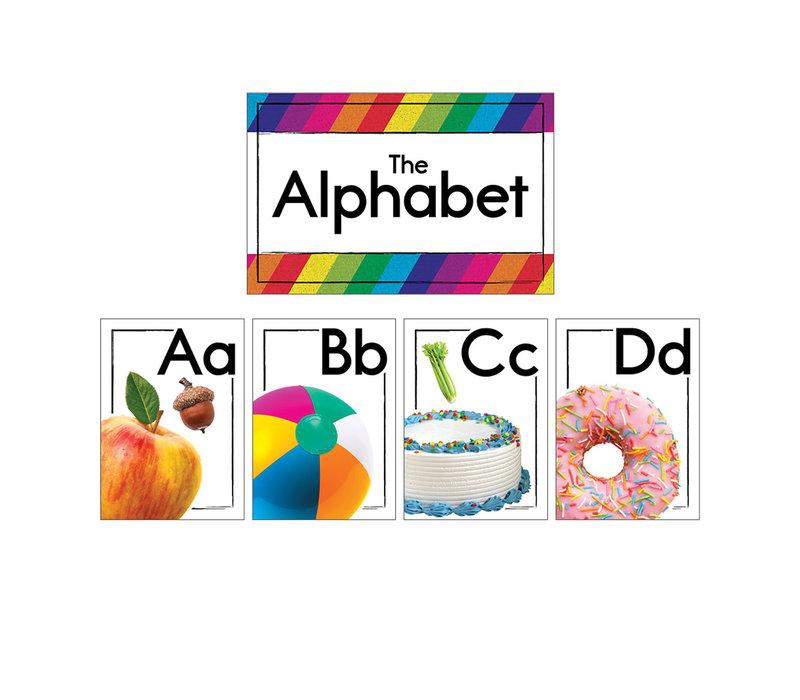 Photographic Alphabet Bulletin Board Set *