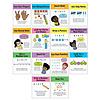 Carson Dellosa Mini Posters: Math Strategies  Poster Set *