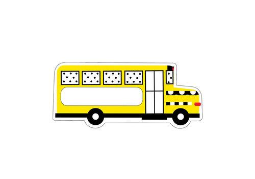 Carson Dellosa Stylish Brights School Bus Accents *