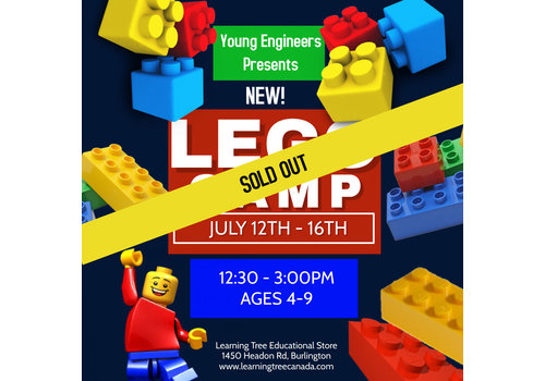 Young Engineer LEGO Bricks! Summer Camp PM - July 12-16*