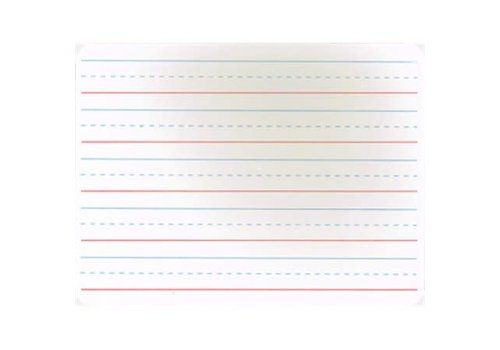 CHARLES LEONARD White Board with RBBR Lines *