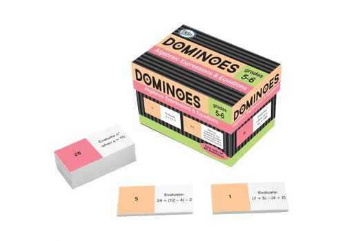 Didax Algebraic Expressions and Equations Dominoes *